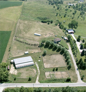 Aerial view of Circle C Ranch
